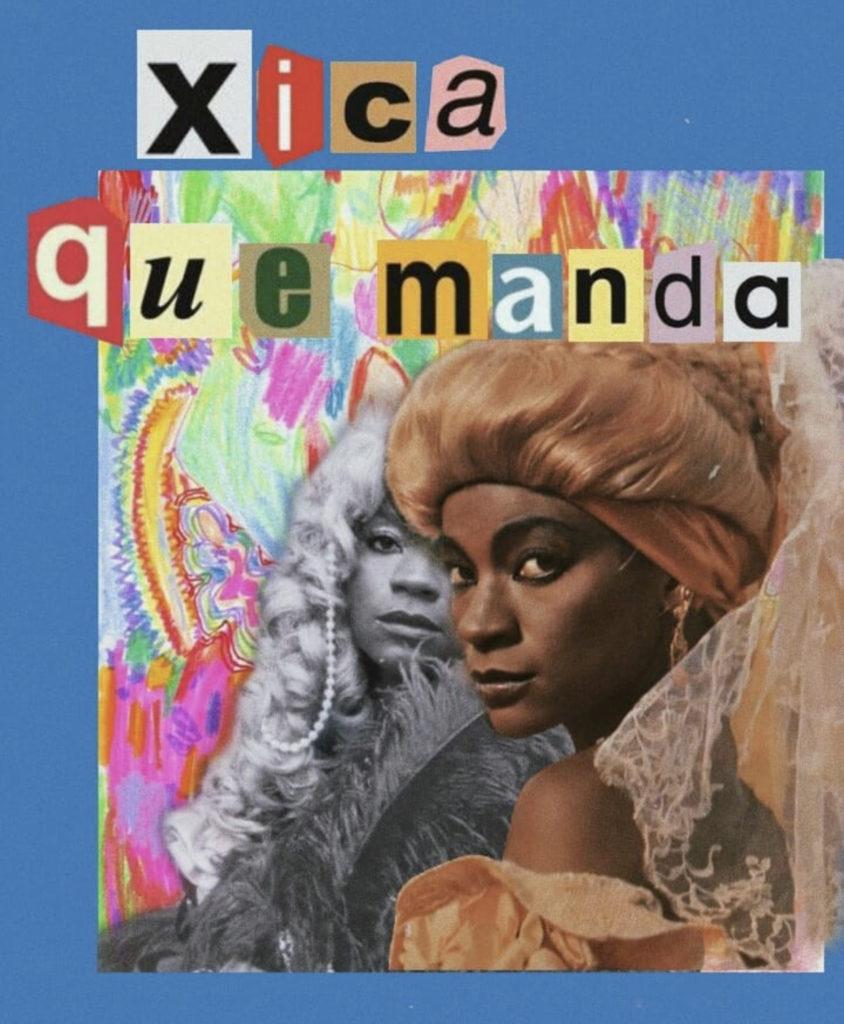 Zezé Motta Xica da Silva Colagem