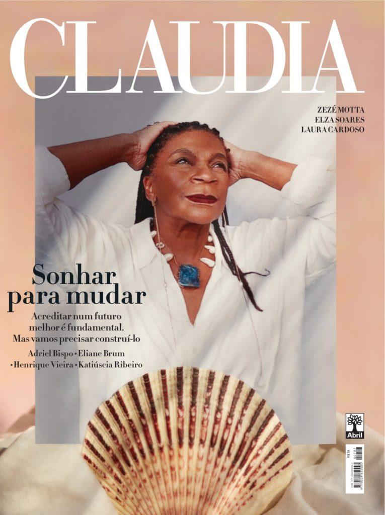 capa zezé motta revista claudia