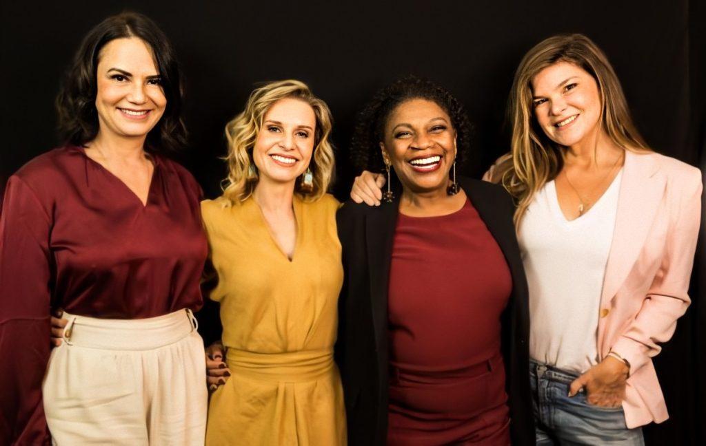 Luiza Brunet, Paula Burlamaqui, Zezé Mota e Cristiana Oliveira