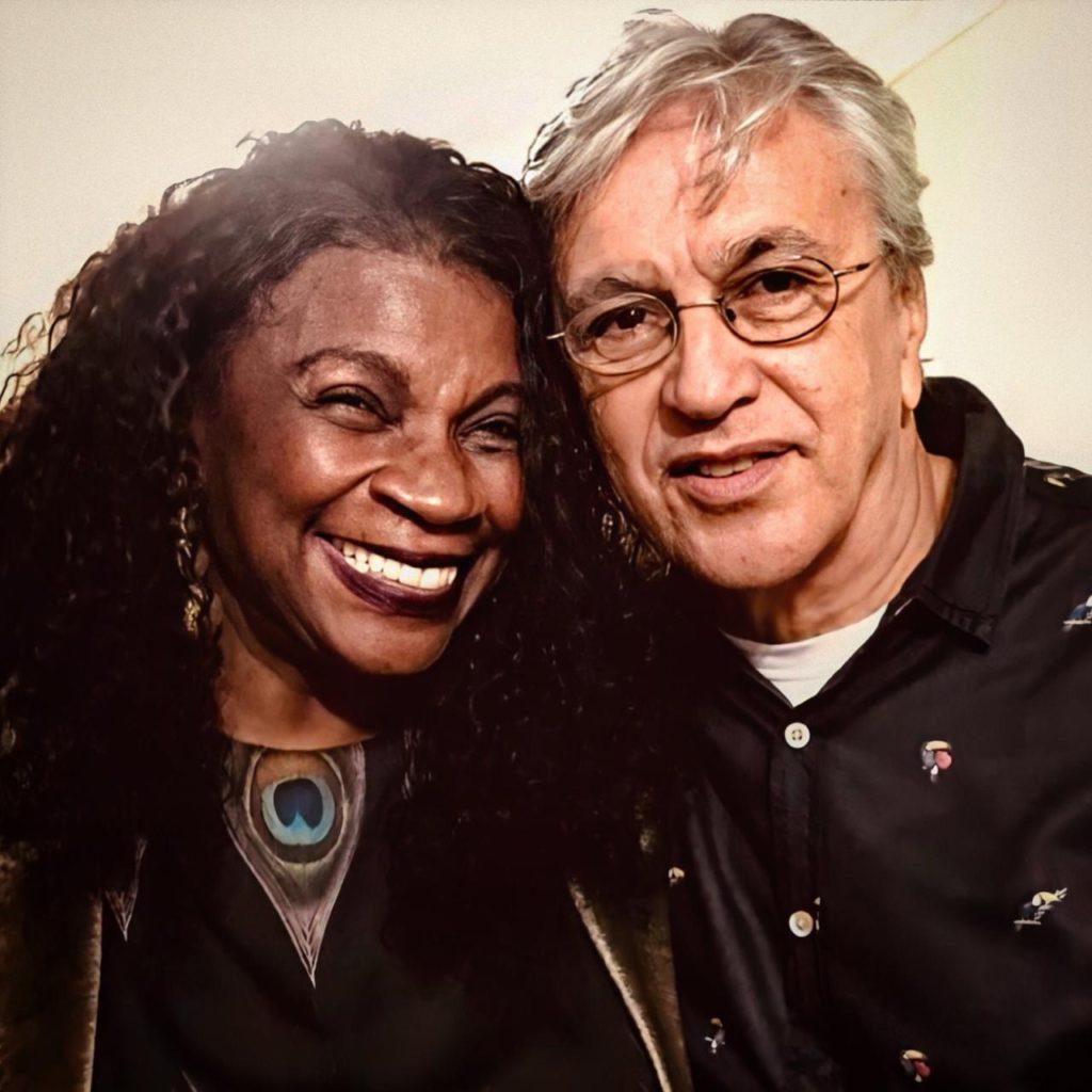 Zezé Motta e Caetano Veloso | Foto: Thereza Eugenia Paes