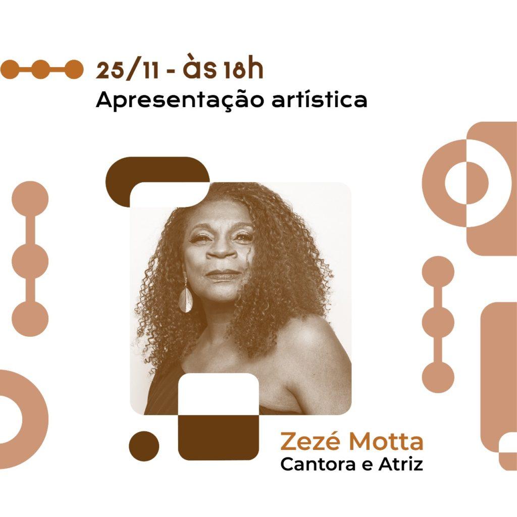 Apresentação Artística Zezé Motta