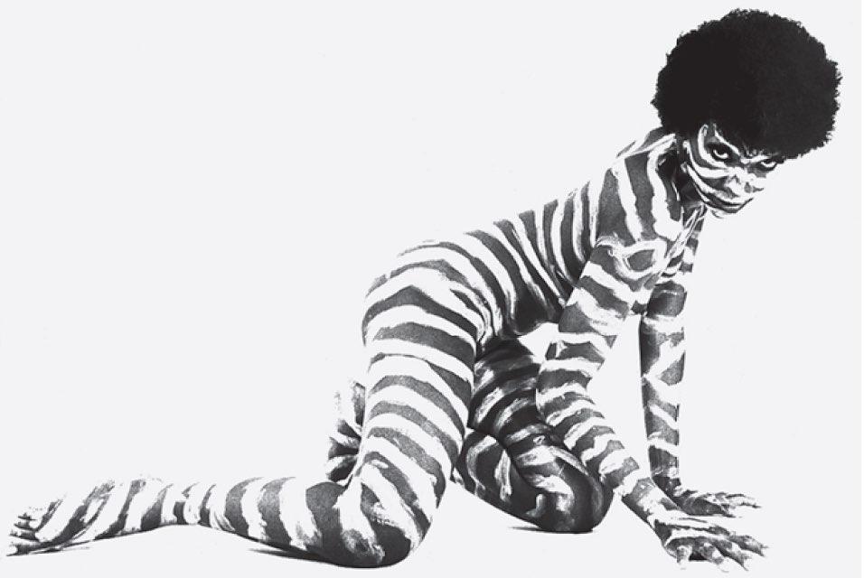 Zezé Motta em A Serpente 1992