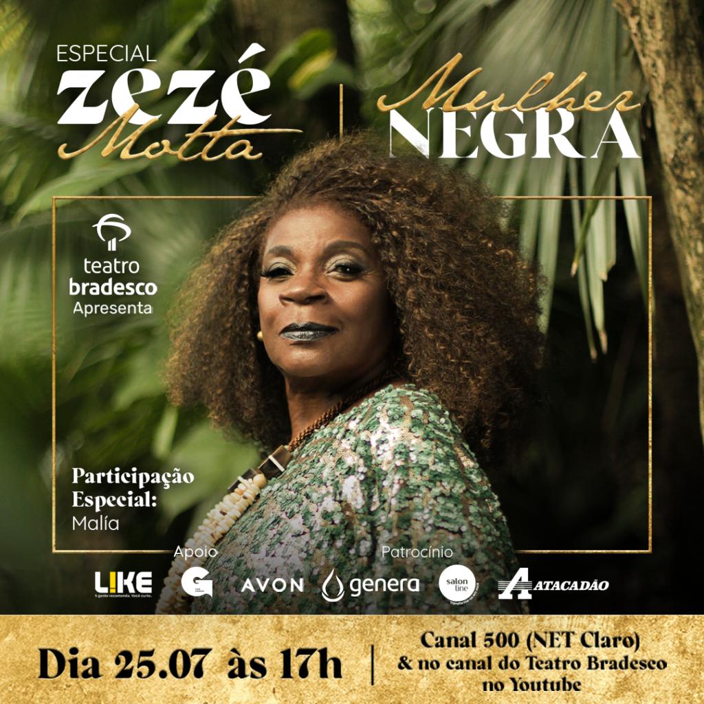 Especial Zezé Motta Mulher Negra