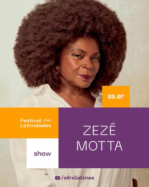Zezé Motta Festival Latinidades