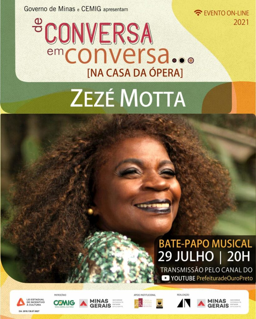 Zezé Motta Ouro Preto
